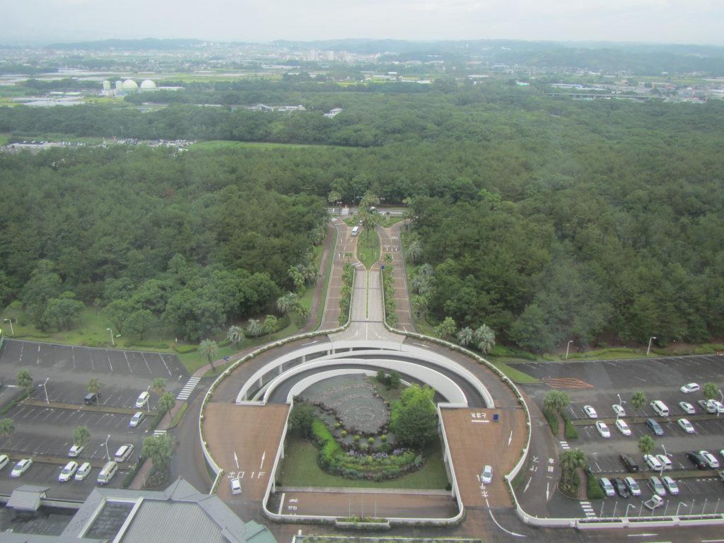 宮崎旅行 シェラトンホテル入り口方面