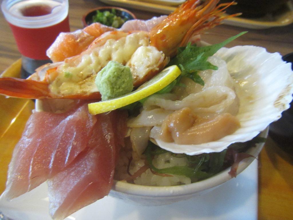 宮崎旅行 青島屋の海鮮丼
