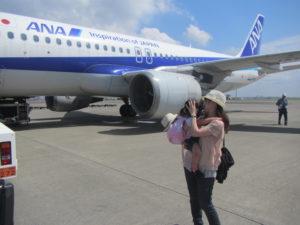 宮崎旅行 飛行機 ANA