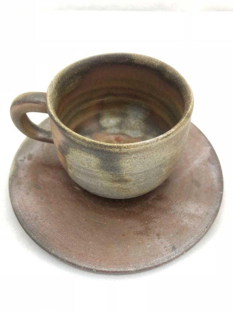 備前焼コーヒーカップ