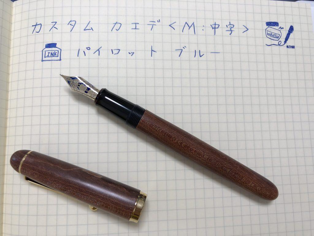 カスタムカエデ / パイロット