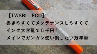 TWSBI(ツイスビー) / ECO(エコ)